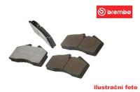Brembo sportovní desky přední SUBARU Legacy 4WD -- 2.2i 16V (BC/BF 7) - rok výroby 89-93