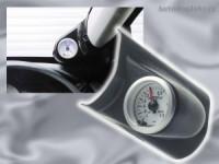 Autostyle držák budíků na přední pravý A sloupek Subaru Impreza -- rok výroby 93-00 -- ( určeno pro 1 měřič o průměru 52 mm, materiál ABS černý plast )