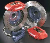 """GALFER kit EVOLUTION Subaru Impreza 2.0i 16V Turbo 4WD -- od roku výroby 94- / brzdové třmeny 4 pístové, průměr kotouče 330X30mm ( minimální rozměr ráfku 17"""" )"""