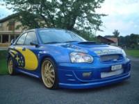 LESTER přední spoiler Subaru Impreza od roku výroby 2003-
