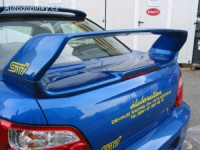 """LESTER zadní spoiler """"WRC LOOK"""" s brzdovým světlem Subaru Impreza od roku výroby 2003-"""