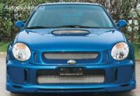 LESTER kryty mlhových světlometů uzavřené s nasávačem Subaru Impreza Compact -- rok výroby 2001-02