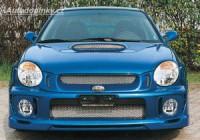 LESTER kryty mlhových světlometů otevřené s nasávačem Subaru Impreza Compact -- rok výroby 2001-02