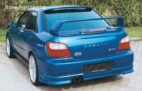 LESTER zadní spoiler pod nárazník JP Subaru Impreza WRX -- do roku výroby -2002