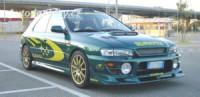 LESTER přední spoiler Subaru Impreza Compact -- rok výroby 2001-02